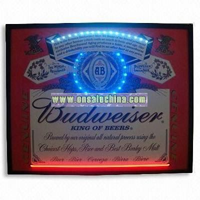 Neon Poster Sign