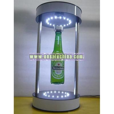 Magnetic Floating Bottle Display Stand