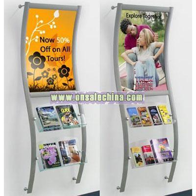Leaflet Shelf (Wall Mounted)