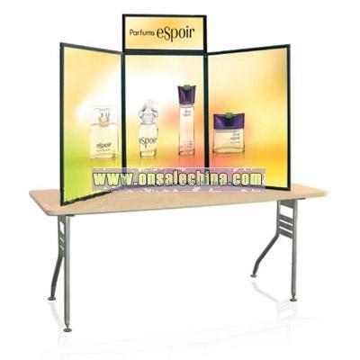 Desktop panel display with KD board