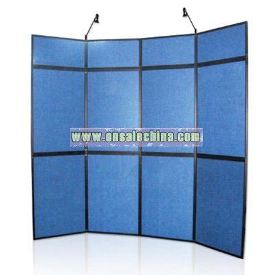 3500714 Panel display,with fabric panel