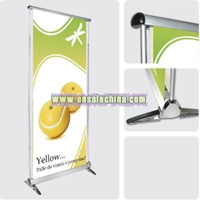 Scrolling Roll Up Banner