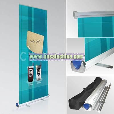 Color-sided Roll Up Banner