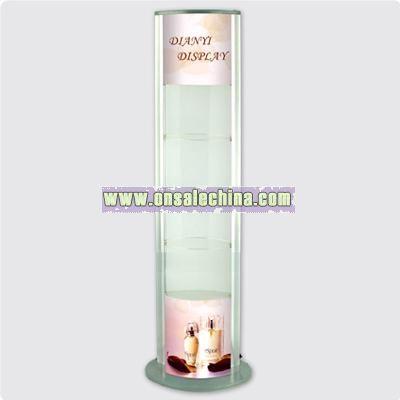 Lightbox Displaying Shelf