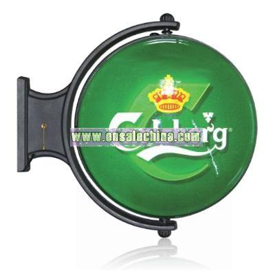 Rotating Racket Light box