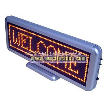 LED Table Message Sign