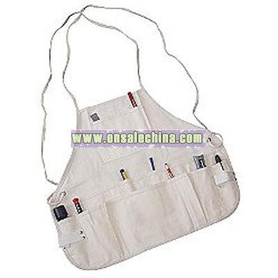 Craftsman 14 Pocket Bib Apron