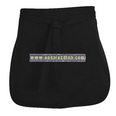 Half Apron with Rounded Corners