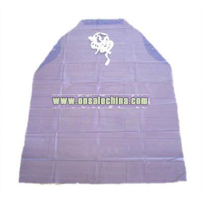 Purple PVC Apron