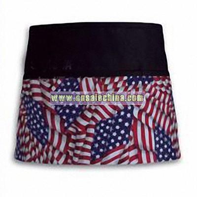 American Flag 3-Pocket Waist Apron