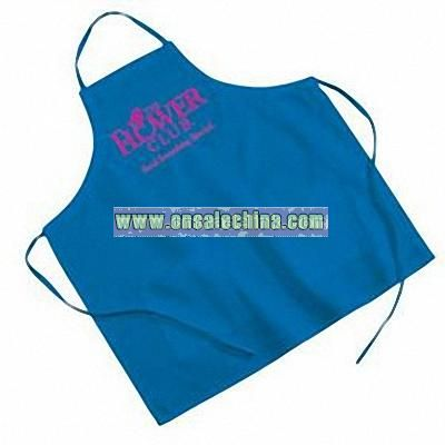 2-Pocket Poly/Cotton Twill BBQ Apron - Colored