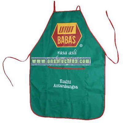 Non-woven recyclable polypropylene bib apron