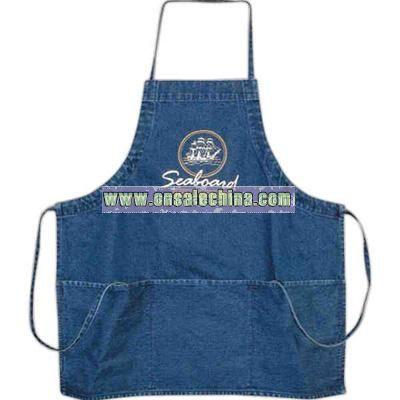 Durable 12 oz. denim apron