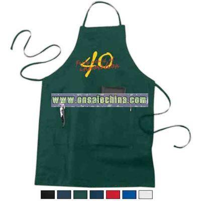 Embroidery - Adjustable bib apron