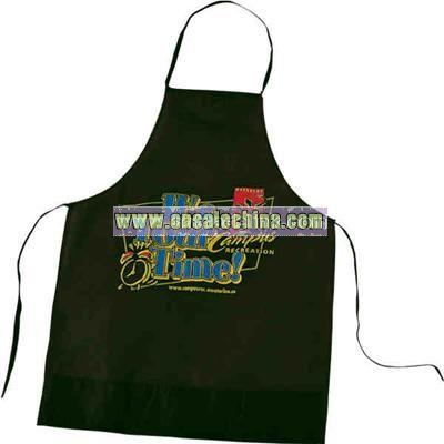 Non-woven polymer apron