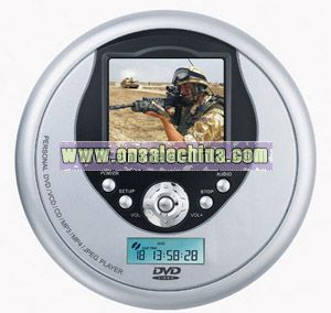 2.5 inch Portable DVD Player