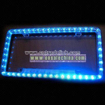 LED Auto License Plate Frame
