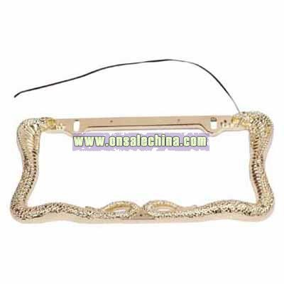 License Plate Frame with LED