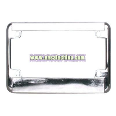 USA Motorcycle License Plate Frame