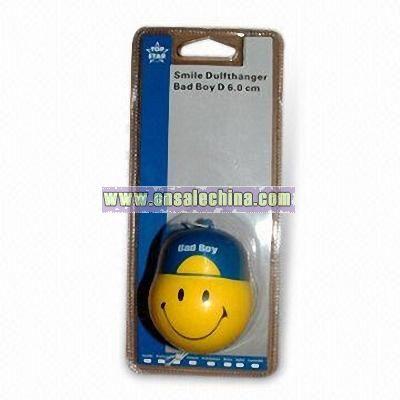 Hanging Smiling Face Car Air Freshener