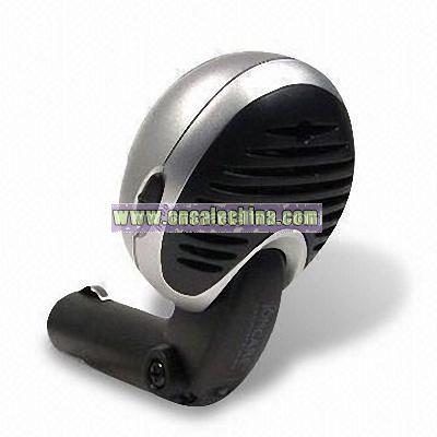 Car Plug-in Ionizer with Blue LED Power Indicator Light