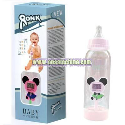 Digital Display-Thermometer Baby Milk Bottle