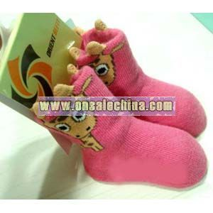 3D Organic Baby Socks