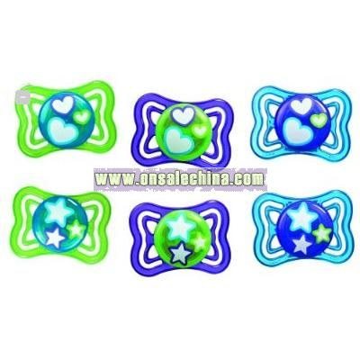 Silicone Pacifier 2-pk.