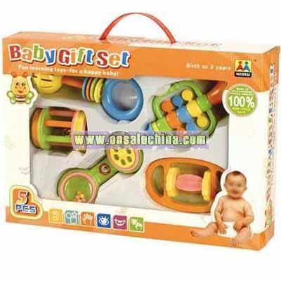 Plastic Toy-Intelligent Baby Gift Play Set