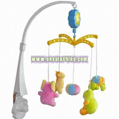 Baby Mobiles with Animal Soft Toys