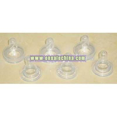 Silicone Rubber Baby Nipples