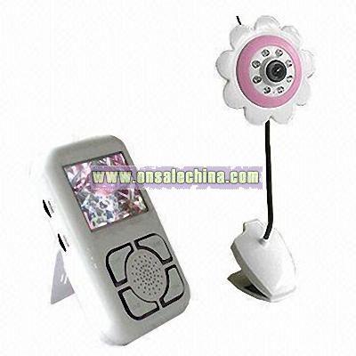 2.4GHz wireless palm baby monitor