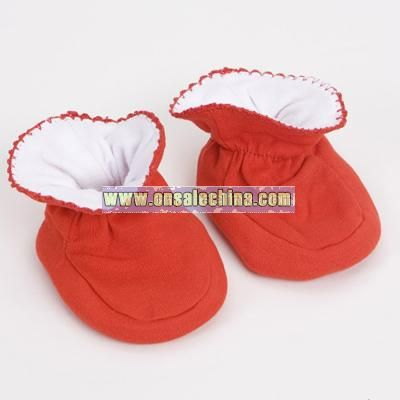 Wholesale Red Baby Booties