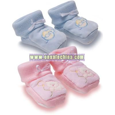 Nursery Time Booties (One Size)