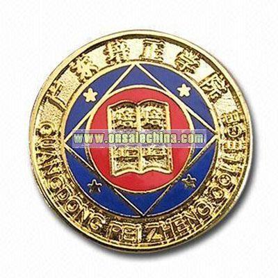 Metal Coin Badge