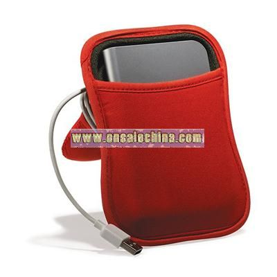 Hoodie Portable Hard Drive Case