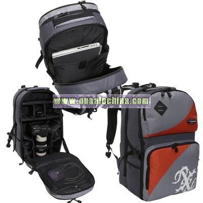Precision Pak Crystal Camera/Video Backpack