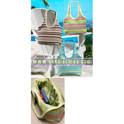 Crocheted Beach Handbag