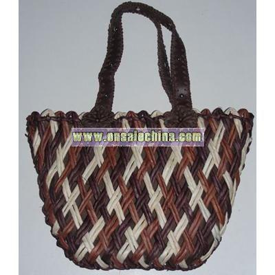 Straw Beach Handbag