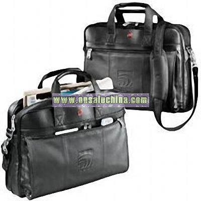 SWISS ARMY WENGER Leather Business Brief