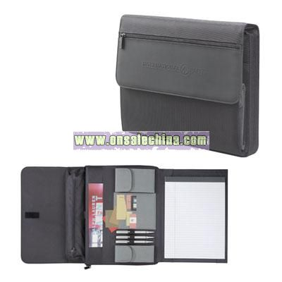 MicroTek Deluxe Zippered Padfolio