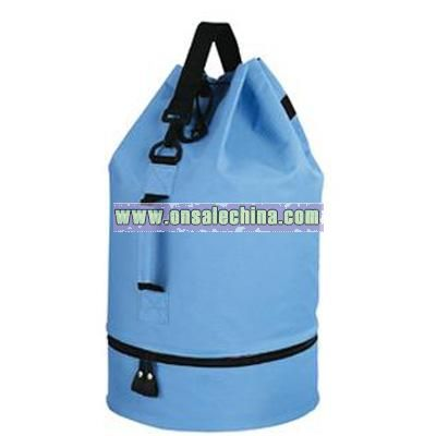 DUFFLE BAG WITH SHOE COMPARTMENT