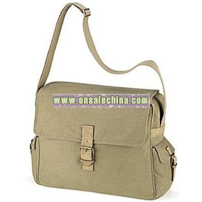 Quadra canvas messenger / dispatch bag