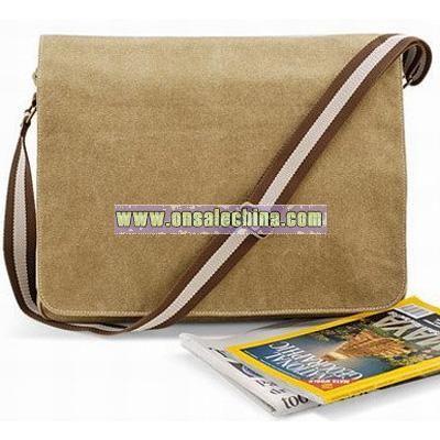 Quadra desert canvas dispatch bag