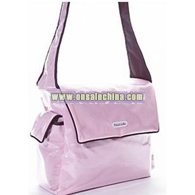 Fleurville Diaper Bag - Pink Chocolate