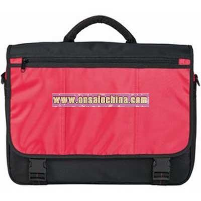 Exhibition Bag With Contrast Panel