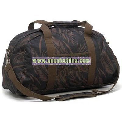 Animal Overnight Weekend Bag - Bribie Raven Leaf