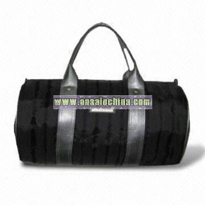 Nylon Quilted Roll Bag