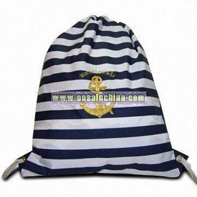 String Bag with Sailor Design