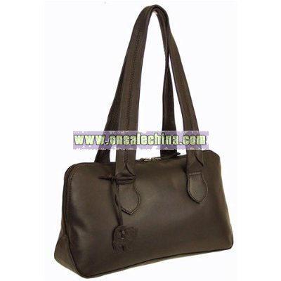 Soft Leather Shoulder Handbag